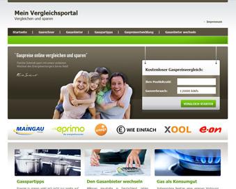 white label Vergleichsportal Strom - Gas - DSL  für passives Einkommen
