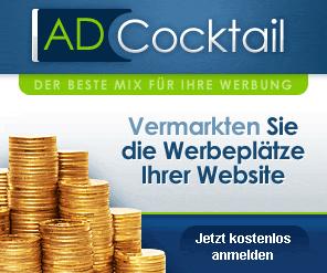 Passives Einkommen mit Ad Coctail - Partner