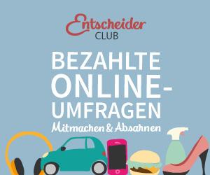 Entscheiderclub DE - Mit Online Umfragen Geld verdienen