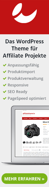 wp thema fertiger shop produktimport affiliate template